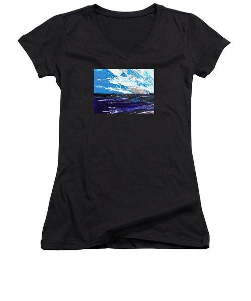 Mariner Women's V-Neck T-Shirt (Junior Cut) by Ralph White
