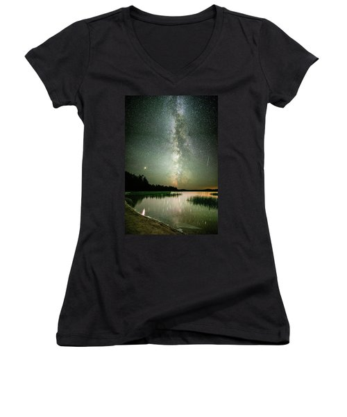 Mars Over Sabao Women's V-Neck