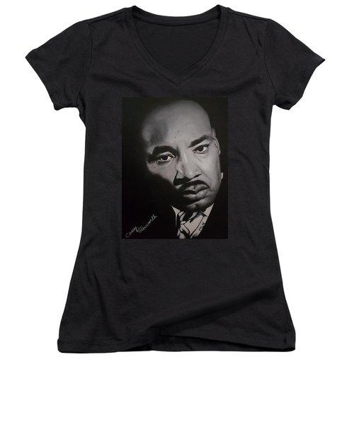 Martin Luther King Women's V-Neck