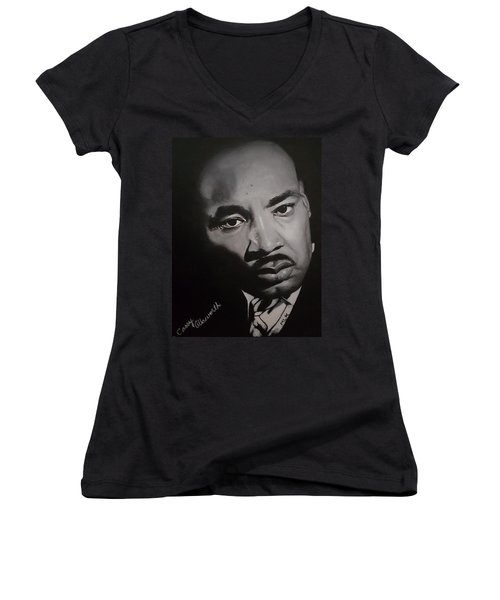 Martin Luther King Women's V-Neck