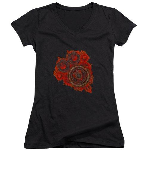 Mechanical Heart Women's V-Neck T-Shirt