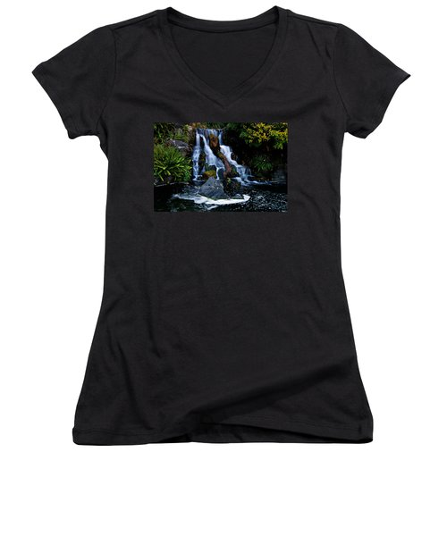 Mental Vacation Women's V-Neck (Athletic Fit)