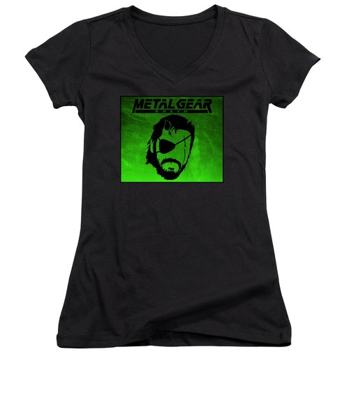 Metal Gear Solid Women's V-Neck T-Shirt