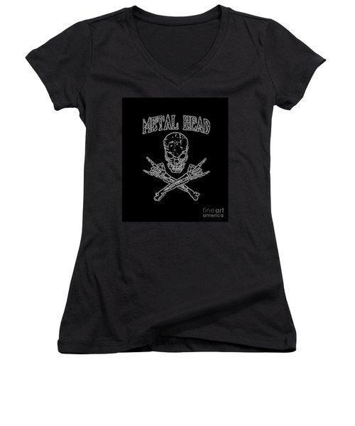 Metal Head Women's V-Neck