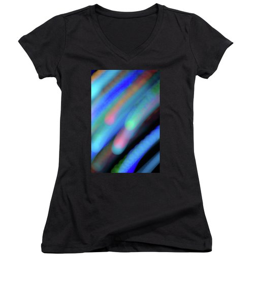 Meteor Storm Women's V-Neck