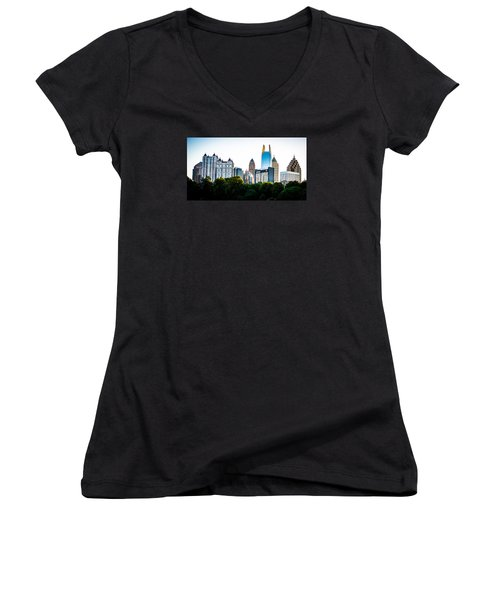 Midtown Skyline Women's V-Neck