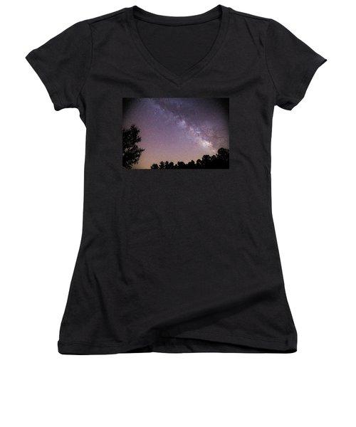 Milky Way Women's V-Neck