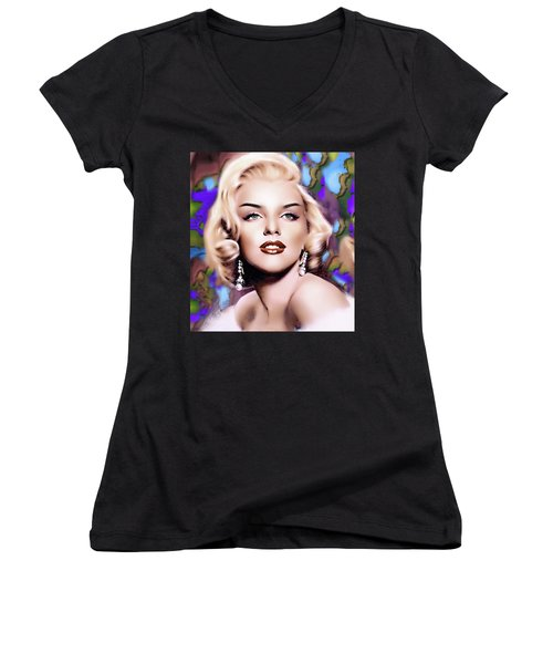 Miss Monroe Women's V-Neck