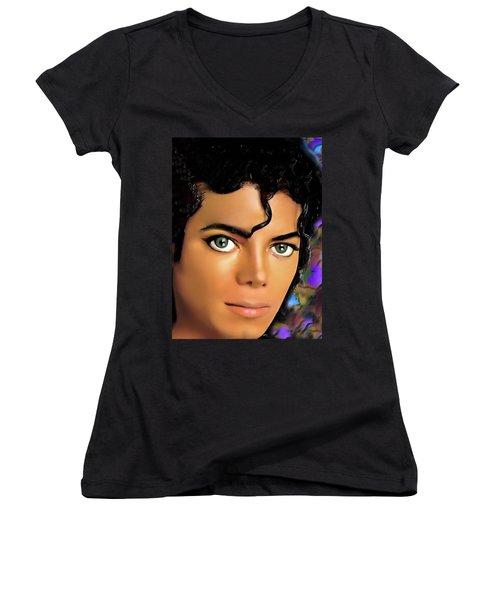 Missing You Women's V-Neck T-Shirt
