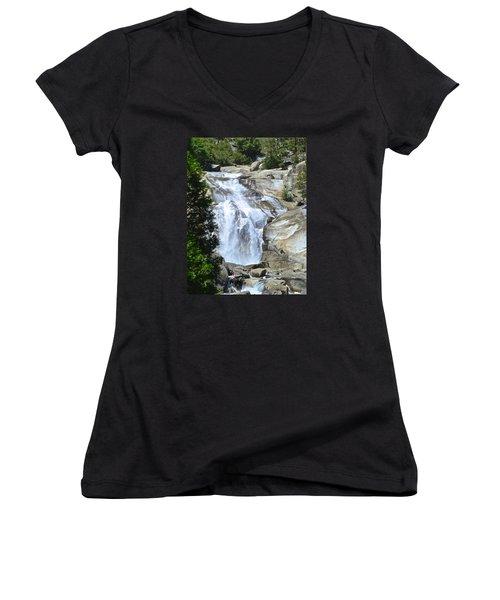 Mist Falls Women's V-Neck T-Shirt