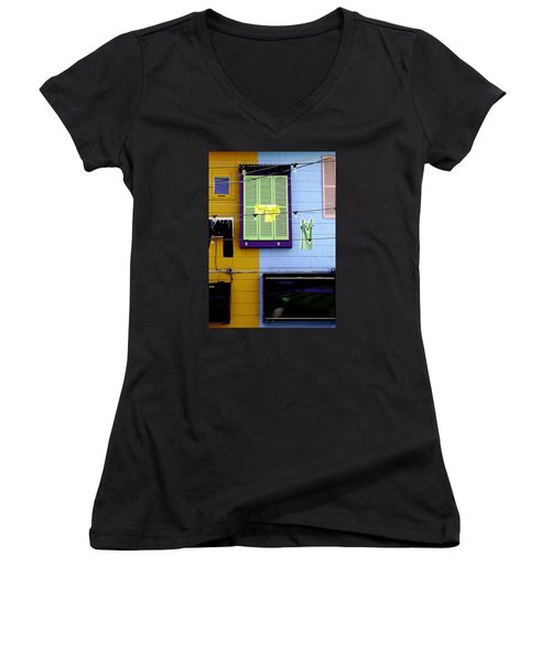 Mke Brz Women's V-Neck T-Shirt (Junior Cut) by Michael Nowotny