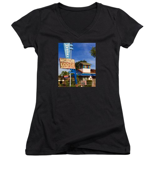 Modern In Lodi Women's V-Neck T-Shirt