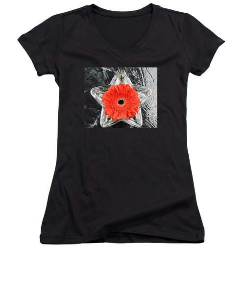 Moment  Women's V-Neck T-Shirt
