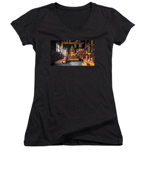 Kathmandu Monk Women's V-Neck T-Shirt