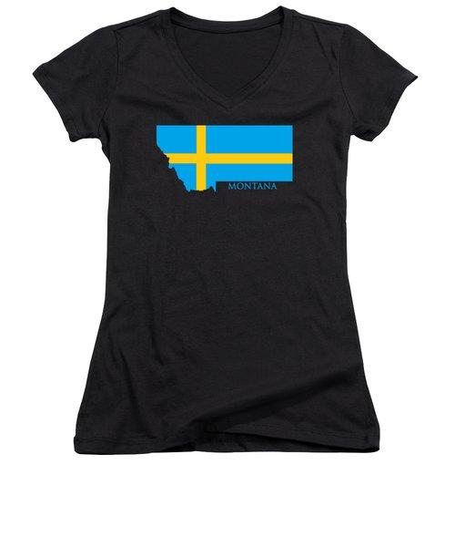 Montana Swede Women's V-Neck (Athletic Fit)