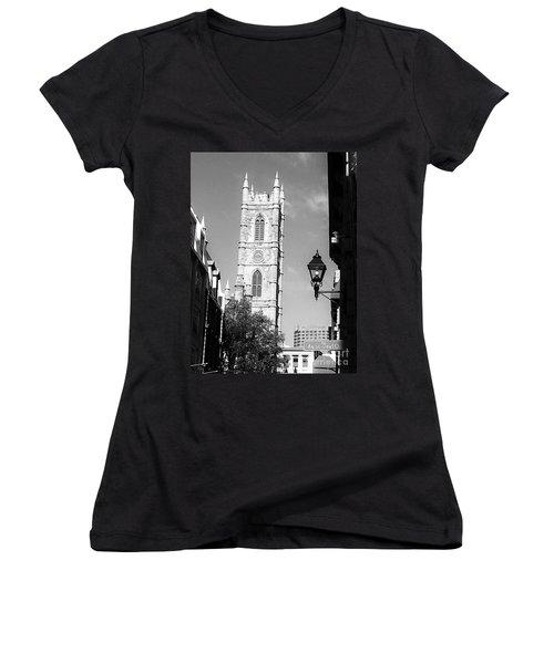 Rue Saint Paul O. Women's V-Neck T-Shirt (Junior Cut)