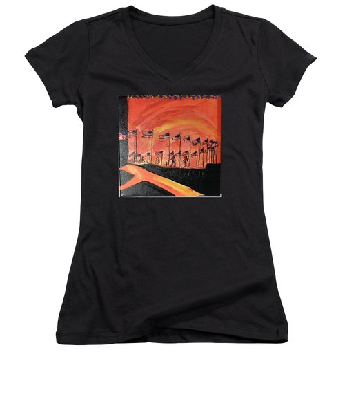 Monument II Women's V-Neck (Athletic Fit)