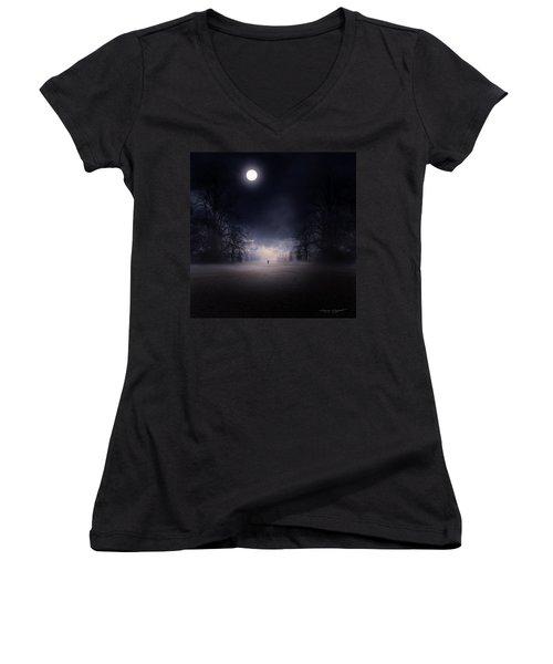 Moonlight Journey Women's V-Neck