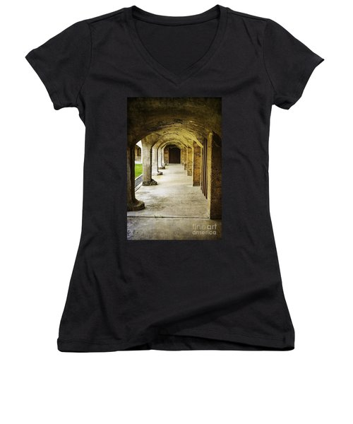 Moravian Pottery And Tile Works Women's V-Neck
