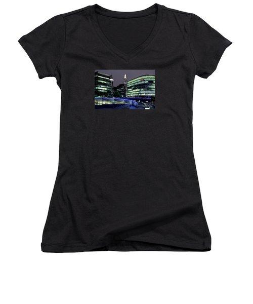More London Riverside Women's V-Neck T-Shirt