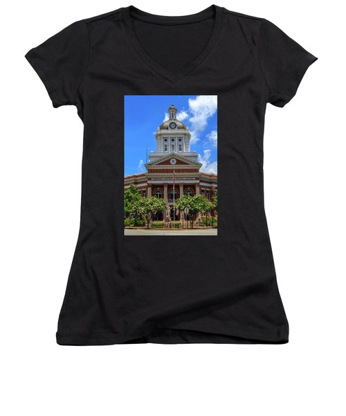 Morgan County Court House Women's V-Neck