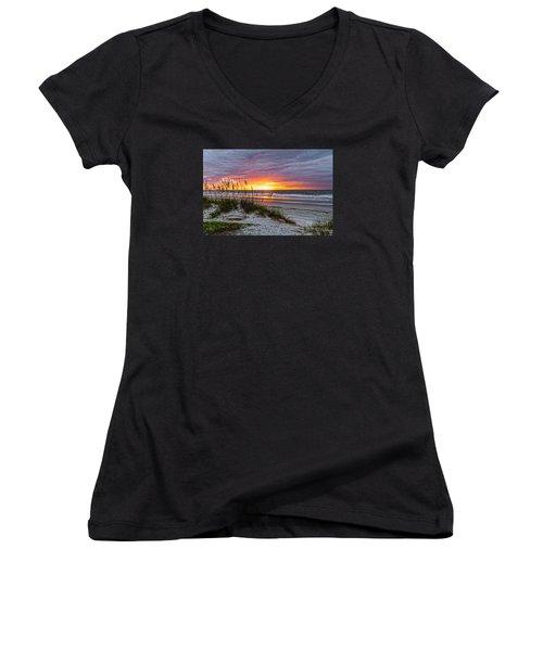 Morning Has Broken Women's V-Neck T-Shirt
