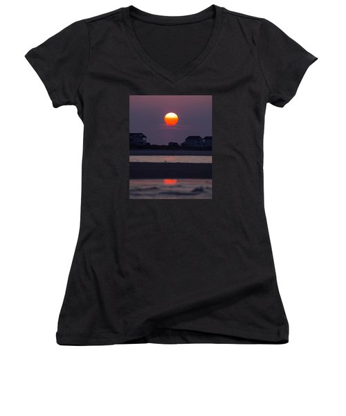 Morning Sun Women's V-Neck T-Shirt