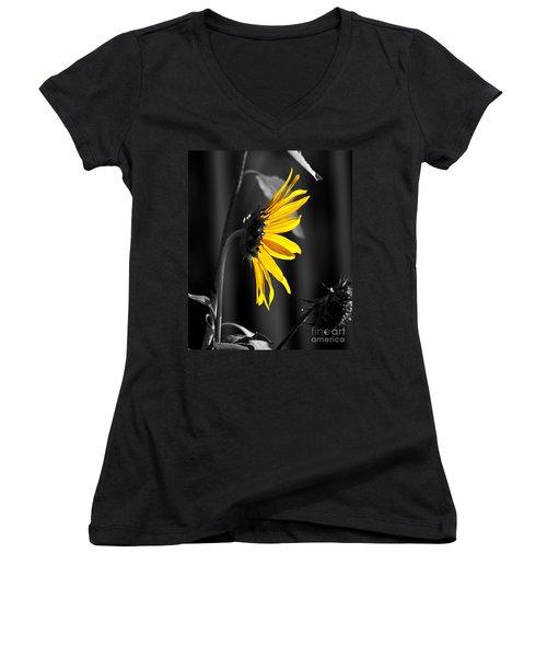 Morning Sun Women's V-Neck T-Shirt