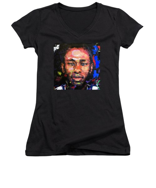Mos Def Women's V-Neck T-Shirt