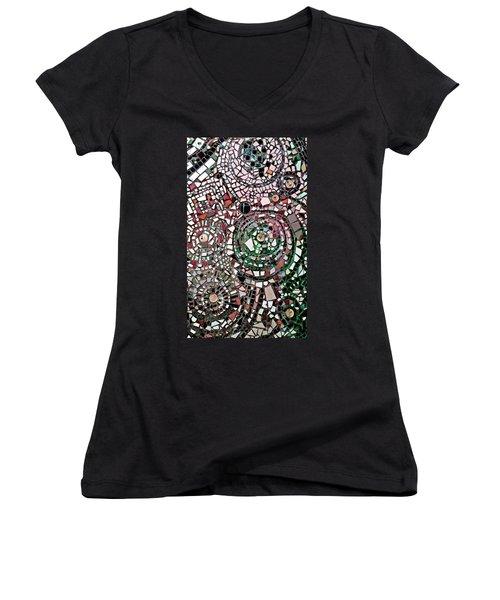 Mosaic No. 26-1 Women's V-Neck T-Shirt