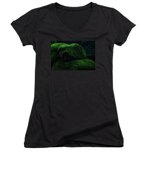 Moss Women's V-Neck