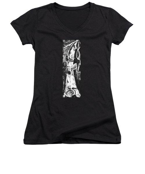 Mother Women's V-Neck T-Shirt (Junior Cut)
