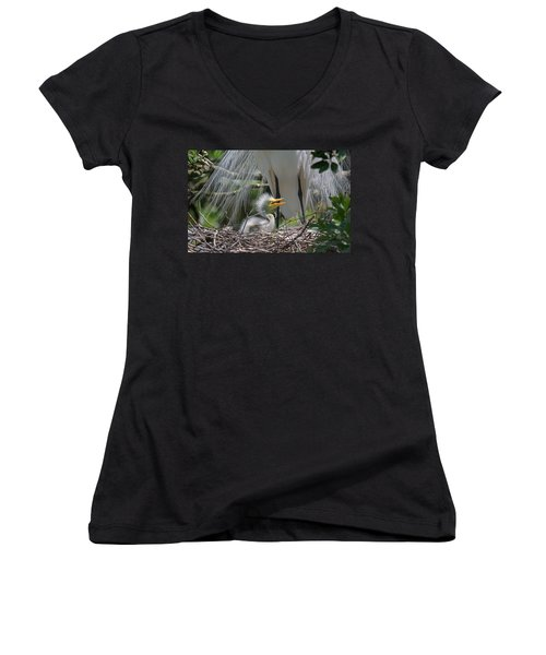 Mother Love Women's V-Neck (Athletic Fit)