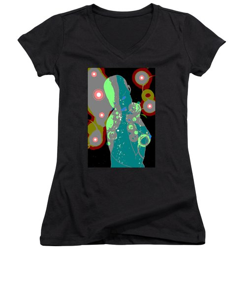 Mother Of Space Women's V-Neck