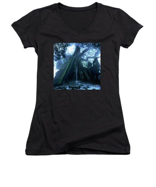 Mother Tree Women's V-Neck T-Shirt