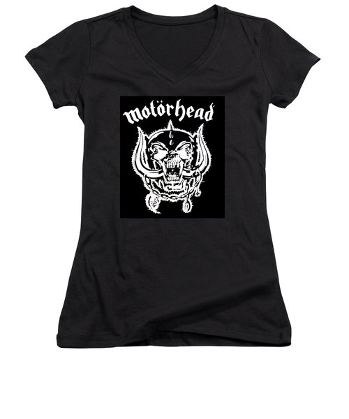 Motorhead Women's V-Neck T-Shirt
