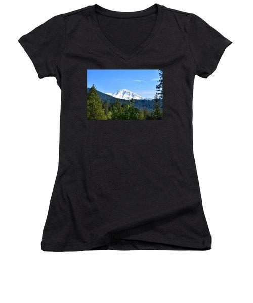 Mount Shasta Women's V-Neck