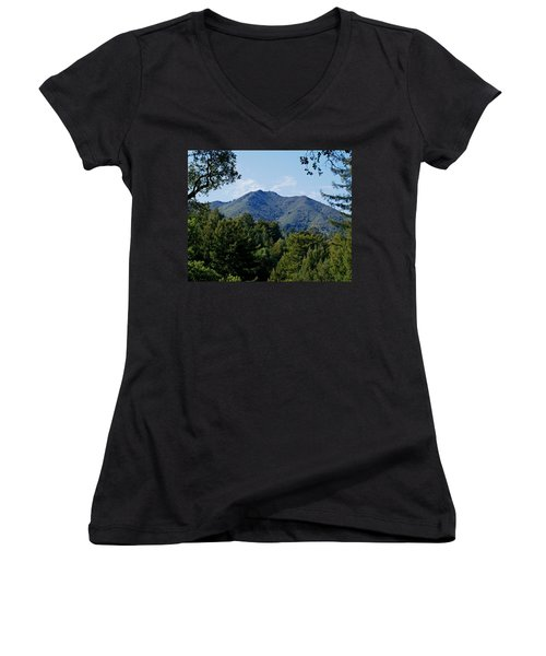Mount Tamalpais Women's V-Neck