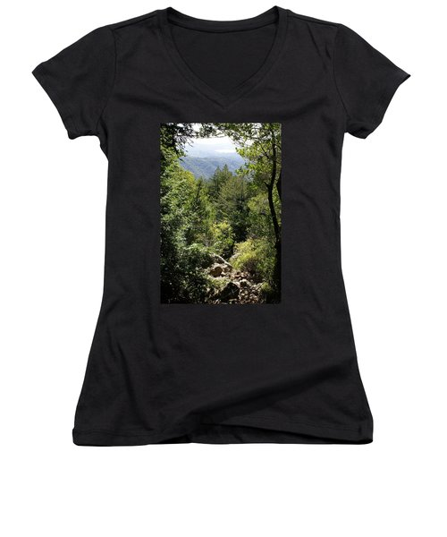Mount Tamalpais Forest View Women's V-Neck