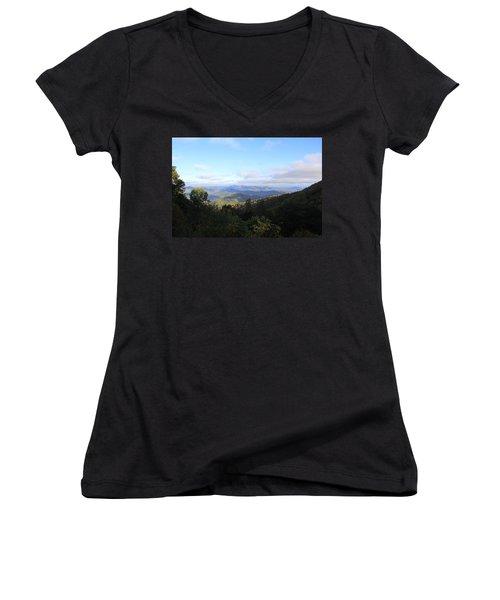 Mountain Landscape 1 Women's V-Neck T-Shirt