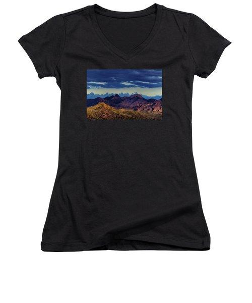Mountain Shadow Women's V-Neck