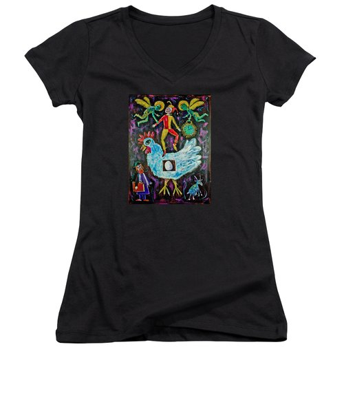 Moving On Women's V-Neck T-Shirt