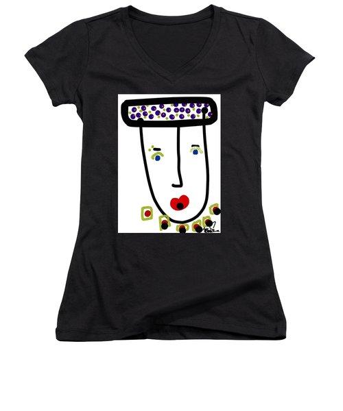 Mr. Glamour Pie Women's V-Neck T-Shirt