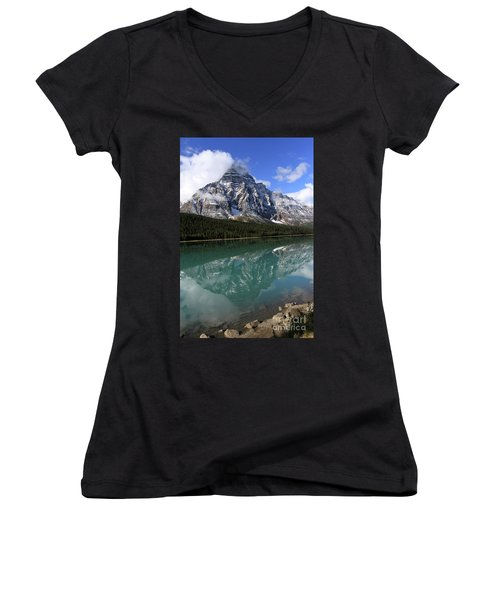 Mt Refection Women's V-Neck