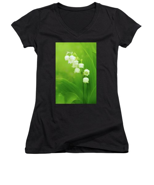 Muguet Melody Women's V-Neck T-Shirt