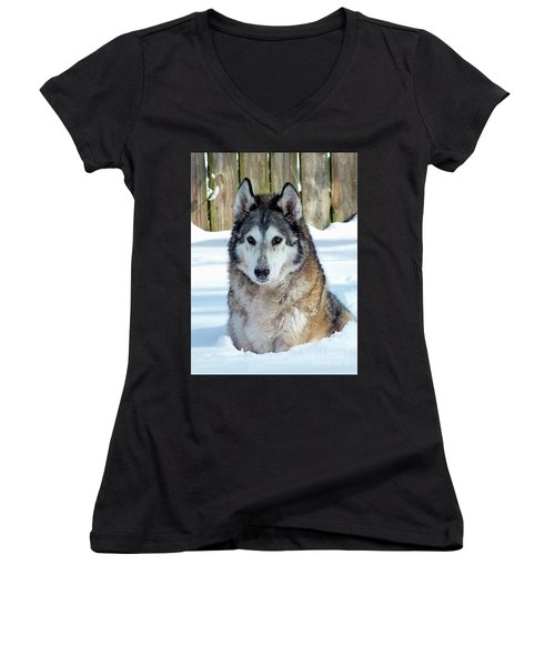My Beautiful Baby Women's V-Neck (Athletic Fit)