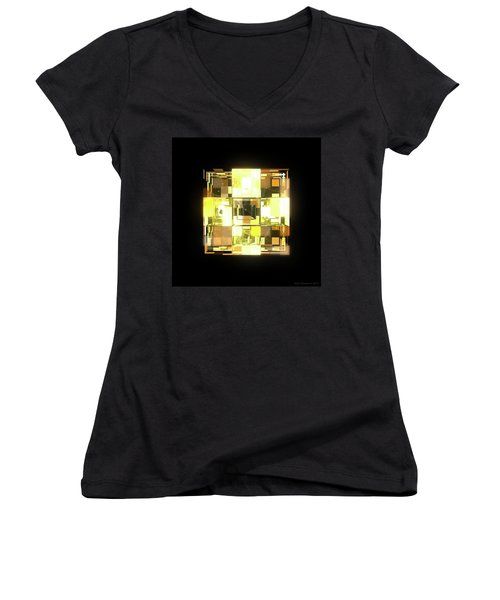 My Cubed Mind - Frame 001 Women's V-Neck T-Shirt