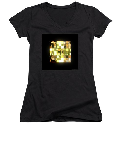 My Cubed Mind - Frame 019 Women's V-Neck T-Shirt