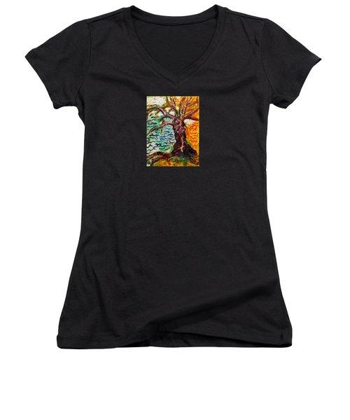 My Treefriend Women's V-Neck T-Shirt