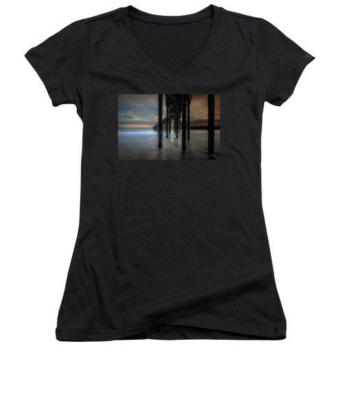 Mystery Women's V-Neck T-Shirt